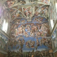 Photo taken at Sistine Chapel by Anna-747 on 4/6/2013