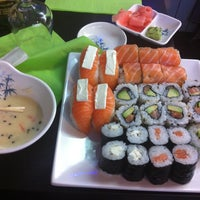 Photo taken at Hoki Sushi by Bruno B. on 2/9/2013