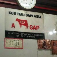 Photo taken at Kue Tiau Sapi Asli A Gap 88 by dewa agung s. on 8/24/2013