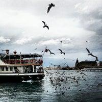 Photo taken at Kadıköy - Beşiktaş / Adalar Vapur İskelesi by Han M. on 2/8/2013