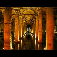 Photo taken at Basilica Cistern by Han M. on 10/11/2013