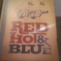 Photo taken at Red Hot & Blue  -  Barbecue, Burgers & Blues by Scott W. on 10/7/2013