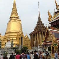 Photo taken at Temple of the Emerald Buddha by Chanettee T. on 3/3/2013