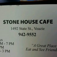 Photo taken at Stone House Café by Elizabeth G. on 11/23/2012