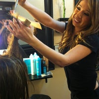 Photo taken at Hair Design By Andrea by Randall H. on 3/23/2013
