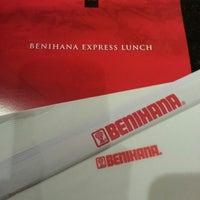 Photo taken at Benihana by Shane E. on 3/1/2013