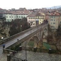 Photo taken at Ponte del Diavolo by Gelli D. on 12/14/2012