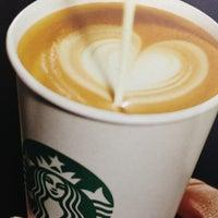 Photo taken at Starbucks by Joelle R. on 1/13/2013