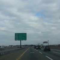 Photo taken at New Jersey Turnpike - Newark by Dwight B. on 2/12/2013