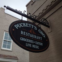 Photo taken at Puckett's Grocery & Restaurant by Peter B. on 10/14/2012
