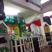 Photo taken at Salón de Fiestas 'Los Gemelos' by Nathalia L. on 1/5/2014