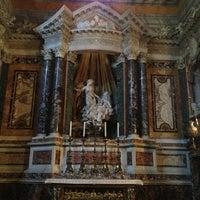 Photo taken at Chiesa di Santa Maria della Vittoria by Angelo D. on 3/16/2013