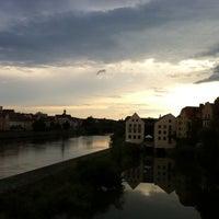 Das Foto wurde bei SORAT Insel-Hotel Regensburg von Martina L. am 7/7/2014 aufgenommen