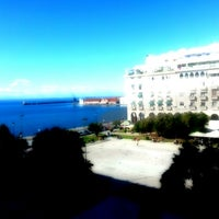 Photo taken at Aristotelous Square by Thanasis S. on 10/30/2012