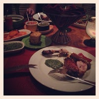 Photo taken at Samba Brazilian Steakhouse by Dre A. on 1/12/2013