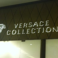 Photo taken at Versace Collection by Graciela A. on 6/7/2013