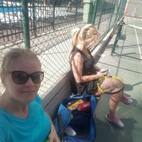Photo taken at İnnovia 2 Tenis Kortu by MILA M. on 6/26/2017