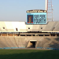 Photo taken at Cotton Bowl by Carmen G. on 7/5/2013