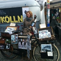 Das Foto wurde bei Nowkoelln Flowmarkt von Tanya V. am 3/23/2014 aufgenommen