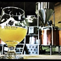 Photo taken at Anthem Brewing Company by Aaron C. on 10/8/2013