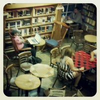 Photo taken at Upstart Crow Bookstore & Coffeehouse by Craig R. on 5/20/2013