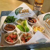 Photo taken at Lime Fresh Mexican Grill - Buckhead by Carly K. on 1/11/2013