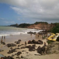 Photo taken at Praia de Cotovelo by Lizandra B. on 10/13/2012
