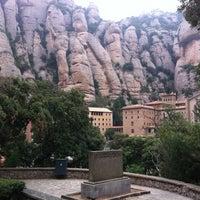 Photo taken at Monistrol de Montserrat by Vladimir S. on 9/18/2012
