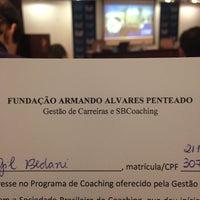 Das Foto wurde bei Pós Graduação FAAP von Marina G. am 9/2/2014 aufgenommen