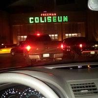 Photo taken at Freeman Coliseum by Eduardo R. on 10/28/2012