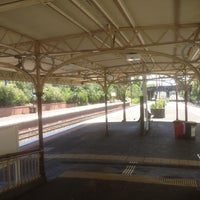 Photo taken at Armadale Station by Howard M. on 1/8/2014