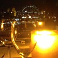 Photo taken at Café Sydney by Howard M. on 11/2/2012