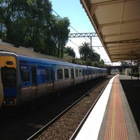 Photo taken at Armadale Station by Howard M. on 2/15/2013
