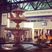 Photo taken at Valley International Airport (HRL) by Sarah S. on 10/12/2012