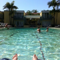 Photo taken at The Lafayette Hotel, Swim Club & Bungalows by Nathan L. on 9/16/2012