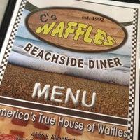 Photo taken at C's Waffles by Debi W. on 8/18/2014