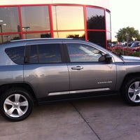Photo taken at Nyle Maxwell Chrysler Dodge Jeep Ram Supercenter by Alex⭐ on 6/16/2013