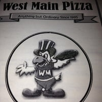 Photo taken at West Main Pizza by Michelle H. on 4/1/2013