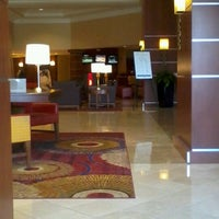 Photo taken at Cleveland Airport Marriott by Mauro S. on 4/9/2013