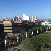 Photo taken at Hilton Durban by Magnus B. on 2/2/2016