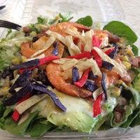 Photo taken at Greenz Salads by David Y. on 9/27/2013
