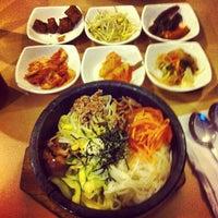 Photo taken at Sushi Cafe & Shilla Korean Restaurant by Gisselle J. on 2/3/2013