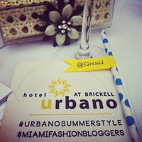 Photo taken at Hotel Urbano at Brickell by Gisselle J. on 6/1/2013