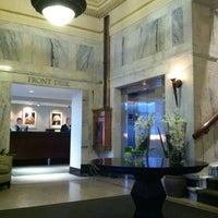 Photo taken at Hotel Teatro by Matt D. on 10/3/2012