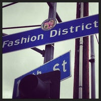 Photo taken at Los Angeles Fashion District by Your Boy Rue on 6/5/2013