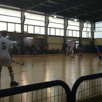 Photo taken at Γηπεδο Basket ΦΟΤ ΧΑΛΑΝΔΡΙΟΥ by Theo B. on 2/16/2013