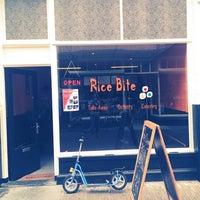 Photo taken at rice bite by Mathijnanneliesyoëlleveerle P. on 7/6/2014