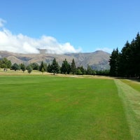 Photo taken at Wanaka golf course by Thomas S. on 2/11/2013