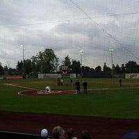 Photo taken at Volcanoes Stadium by Chelsey B. on 6/15/2014