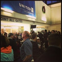 Photo taken at Terminal C by Tim G. on 1/1/2013